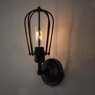 Vintage Muurlamp voor Filament Lampen