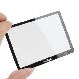 Glazen Screen Protector voor Canon EOS 550D