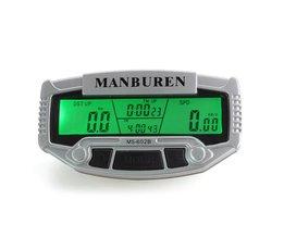 Fietscomputer met Odometer en Speedometer