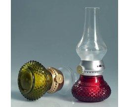 LED Kaarslamp Met Blaasschakelaar