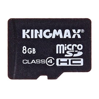 Kingmax Micro SD Kaart 8GB