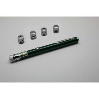 Laserpointer via USB Oplaadbaar