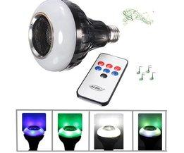 Lamp Met Bluetooth Speaker