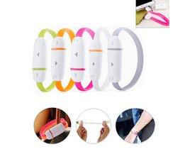 MiLi Micro USB Armband voor Mobiele Telefoons