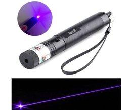Laserpointer 5 mw met Paars Licht