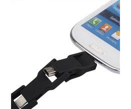 Multifunctionele 4 in 1 USB Kabel