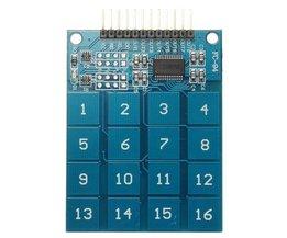 Keyboard met Digital Touch Sensor voor Arduino