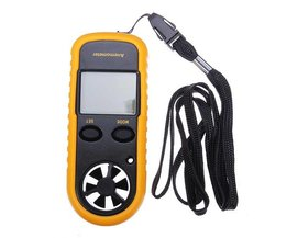 Digitale Anemometer GM816
