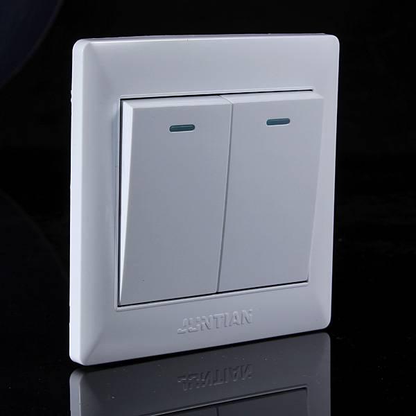Wall Sconce With Push Button Switch : Dubbele Schakelaar online bestellen? I MyXLshop (Tip)