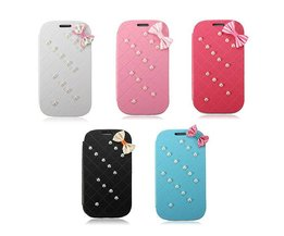 Bowknot Pearl Hoesje voor Samsung Galaxy S3 i9300