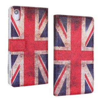 Flipcase Hoesje met Britse Vlag voor Sony Xperia Z2