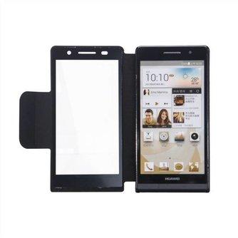 Flipcover Hoesje voor Huawei Ascend P6