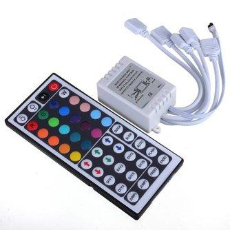 Afstandsbediening en RGB controller voor Ledstrip