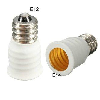 E12 naar E14 Adapter