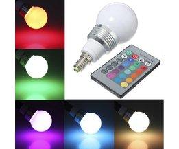 LED Lamp in meerdere kleuren