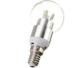 Bolvormig LED Lamp Peertje
