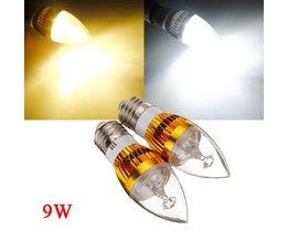 Dimbaar LED Candle Light lampje 9W
