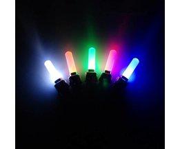Gekleurde Wielverlichting