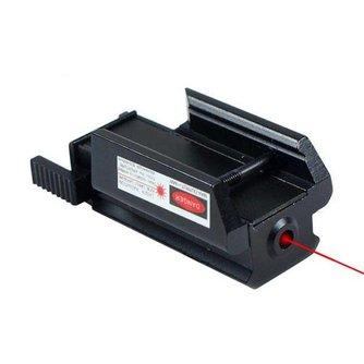 Picatinny Laserrichter Rood