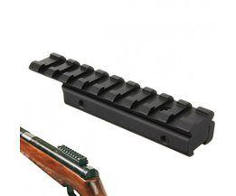 11mm naar 20 mm Zwaluwstaart Adapter Geweer