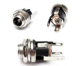 DC Power Supply Metal Jack Socket