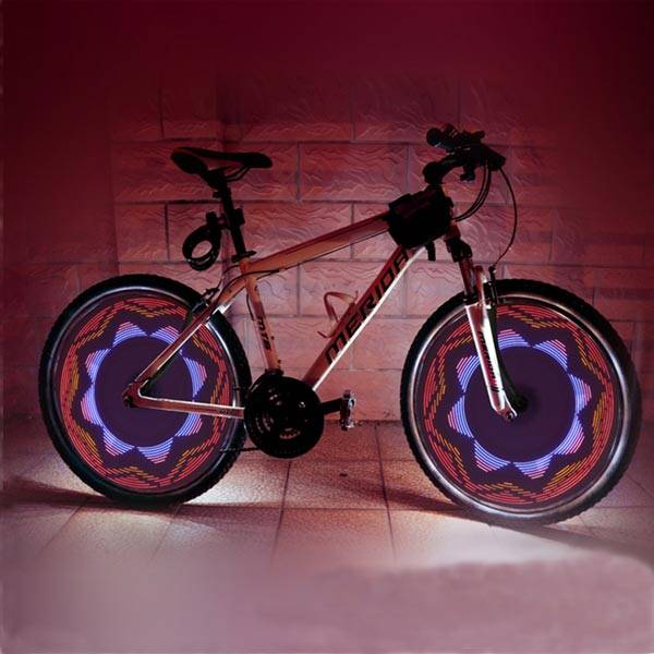 fiets led verlichting wielspaak