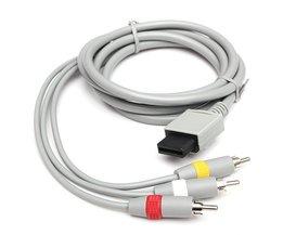 AV-kabel 1,8m voor Nintendo Wii