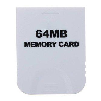 64MB Geheugenkaart voor Nintendo Wii & Gamecube