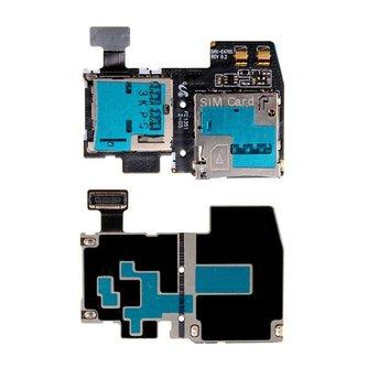 Sim Card Holder voor Samsung S4 i537 i9295