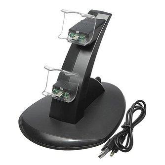 Dual USB Controller Dock voor PS4