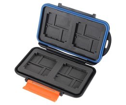 Waterproof Anti-shock Box voor Micro SD Kaart