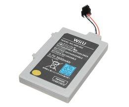 Oplaadbare Batterij voor Nintendo Wii U Gamepad