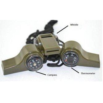 Survival Kompas Multifunctioneel