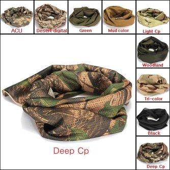 Visnet Camouflage Hoofddoek