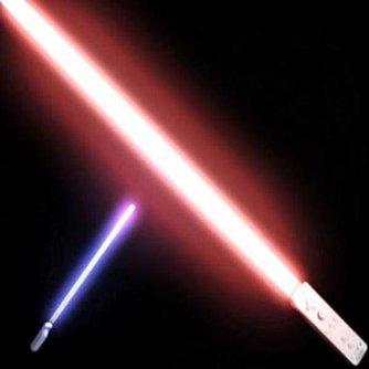 Star Wars lichtzwaard voor Wii