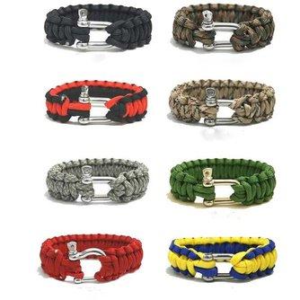 Survival Armband met Verschillende Kleuren