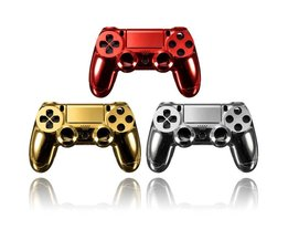 Chrome  Cover voor Playstation 4 Joystick