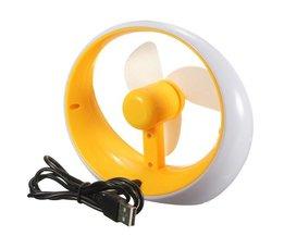 Draagbare Mini Ventilator USB Opgeladen