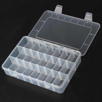 Plastic Vakjesdoos met 24 Vakjes