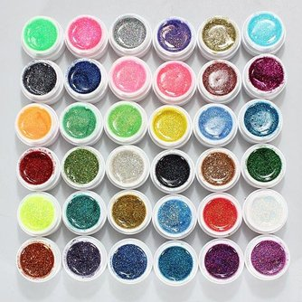 Glitter voor Nail Art