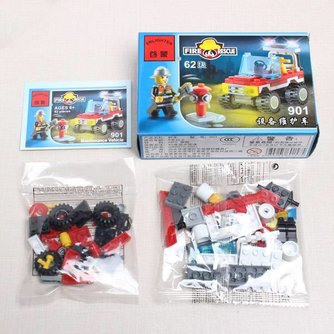 Lego Brandweerauto Van Enlighten