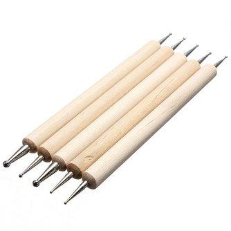 Nail Dotting Pen (5 stuks)