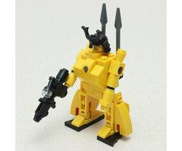 Robot Blocks Gouden Samurai