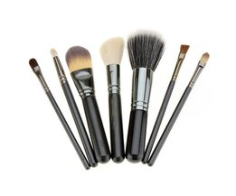 Set van 7 Professionele Make Up Kwasten