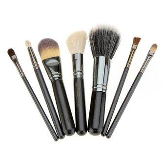 Set van 7 Professionele Make Up Kwasten