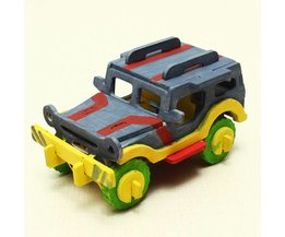 Speelgoed Jeep DIY Set