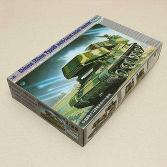 Modelbouw Tank