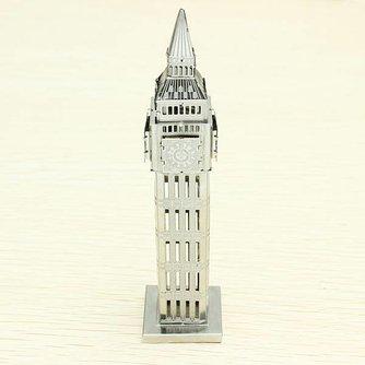 ZOYO 3D Puzzel Big Ben van Gelaserd Staal
