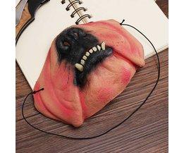 Griezelig Hondenmasker