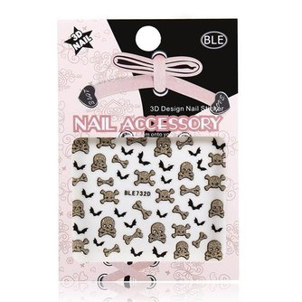 Nail Art Skulls